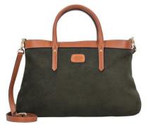 Life Allegra Handtasche 36 cm braun / grün