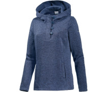 Darling Days Fleecehoodie Damen blau