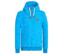 Male Zipped Jacket 'Mach Et Otze IV' neonblau