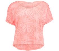 T-Shirt 'palm' pink