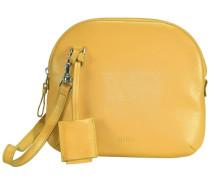 Fantastic 5 Umhängetasche Leder 19 cm gelb