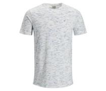 Melange T-Shirt weißmeliert
