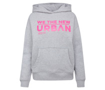 Can-Nes Oversized Hoodie mit Print