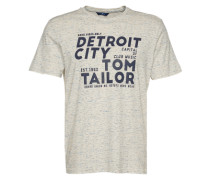 T-Shirt mit Print offwhite