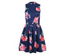 Sommerkleid blau / mischfarben