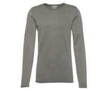 Pullover 'Acid-wash Roll Edge Knit'