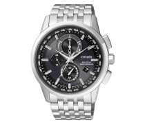 Funkchronograph »At8110-61E« silber