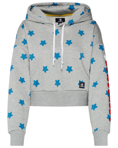 Sweatshirt ' x Hello Kitty Boxy PO White Multi'