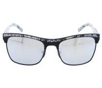 Sonnenbrille Gu7108-Blk-3F silbergrau / schwarz