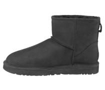 Stiefel 'Classic Mini Leather' schwarz