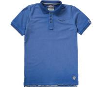 Poloshirt für Jungen royalblau