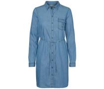 Hemd-Kleid blue denim
