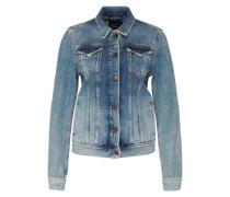 Jeansjacke 'Thrift' blau