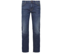 Jeans »Denton STR Tony Dark Indigo« blau
