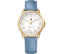 Armbanduhr »Casual Sport 1781653« blau
