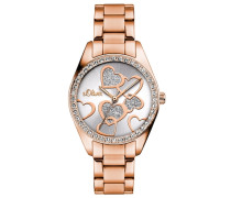 Armbanduhr »So-3140-Mq« rosegold / silber