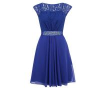 Kurzes Abendkleid 'Lorilee' kobaltblau