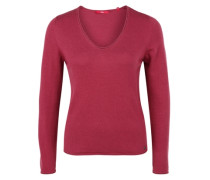 Softer Pulli aus Woll-Mix rot