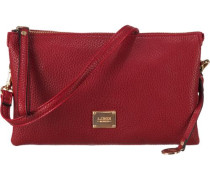 'Maxima' Handtasche gold / rot