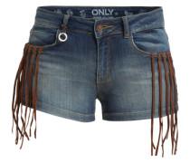 Shorts 'ONLUltimate Fringe' dunkelblau