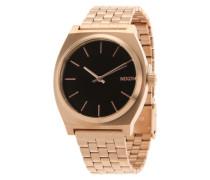 Armbanduhr 'Time Teller' gold / schwarz