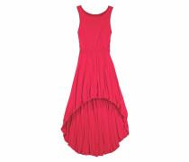 Kleid vorne kurz hinten länger für Mädchen rot