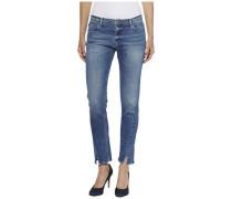 Jeans ´twisted Cropped Lana Dubst´ blau