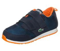 'L.ight Sneaker' Kleinkinder navy / neonorange