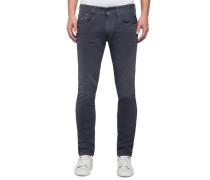 Jeans 'anbass Slim' taubenblau