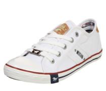 Sneaker im Canvas-Style weiß