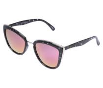 Sonnenbrille 'MY Girl' schwarz / pink