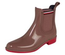 Chelsea Boots in Lack-Optik 'Dette' beige