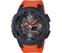 Chronograph 'bga-230-4Ber' dunkelgrau / orange