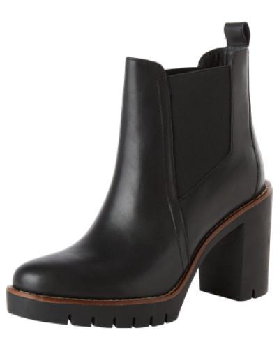 tommy hilfiger damen chelsea boots 39 paola 1a 39 schwarz. Black Bedroom Furniture Sets. Home Design Ideas