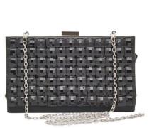 Quadratische Party-Tasche schwarz