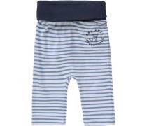 Baby Sweathose für Jungen blau / dunkelblau / weiß