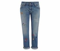 Boyfriend-Jeans »501« blue denim