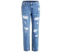'Loose Fit' 7/8-Jeans blue denim