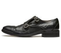 Elegante Monk-Schuhe schwarz