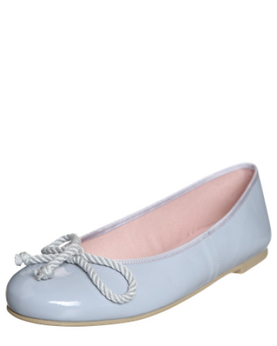 Ballerina aus Leder 'Ipnotic' hellblau