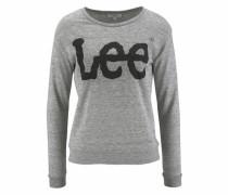Sweatshirt anthrazit / graumeliert