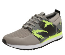 Sneaker 'Deline' gelb / grau