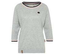 Pullover mit Raglanärmel graumeliert