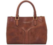 Bureau Mini Handtasche Leder 30 cm braun