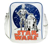 Tasche Krieg der Sterne - C-3Po R2-D2 weiß