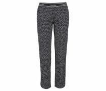 Pyjama Pants mit Allover-Logoprint schwarz / weiß