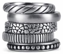 Ring-Set (Set 5 tlg.) silber