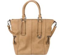 Handtasche beige / camel