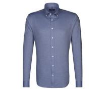 City-Hemd 'Tailored' blau