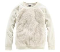 Sweatshirt für Mädchen weiß